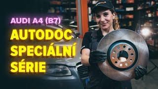 Jak vyměnit Hlavni brzdovy valec на AUDI A4 (8EC, B7) - online zdarma video