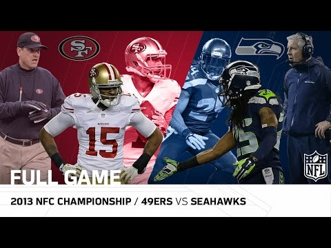 2013 NFC Championship: San Francisco 49ers vs. Seattle Seahawks | NFL Full Game