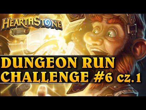 DUNGEON RUN CHALLENGE #6 cz. 1 - Hearthstone Dungeon Run