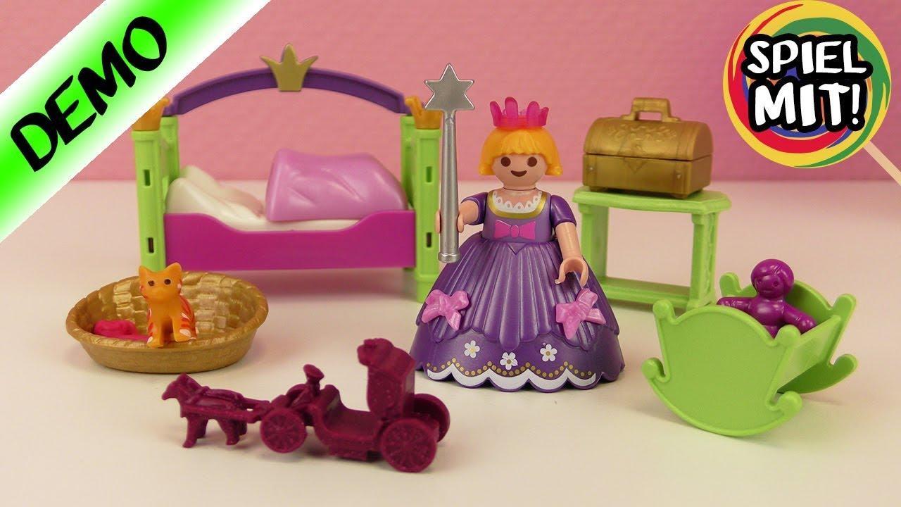 Prinses Kinderkamer Set : Playmobil prinsessen kinderkamer met galajurk kroon meisjes