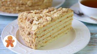 Песочный Торт АНТОШКА Очень Простой Домашний Торт
