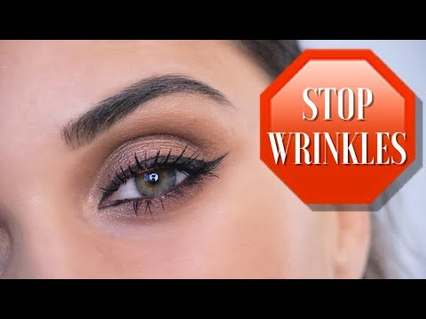 Как ухаживать за кожей вокруг глаз после 30