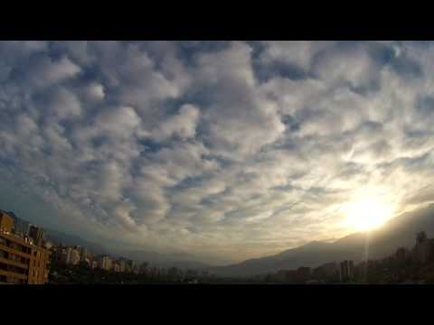 This amazing clouds only take place at Mount Andes in Santiago Chile