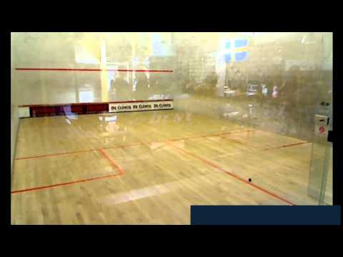 King of Rackets - Centre court: Squash