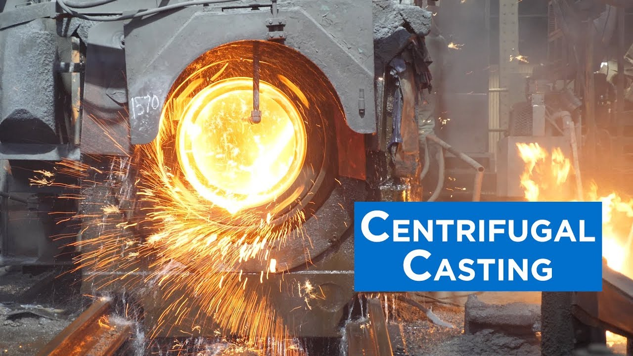 Centrifugal Casting of Ductile Iron Pipe (De Lavaud Process)