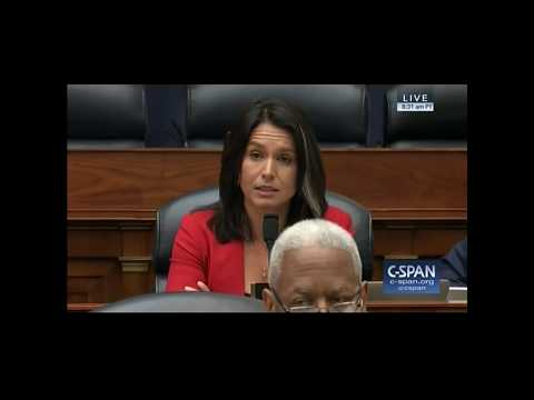 BREAKING: Tulsi Gabbard demands answers from Defense Secretary Mattis on attacking Syria