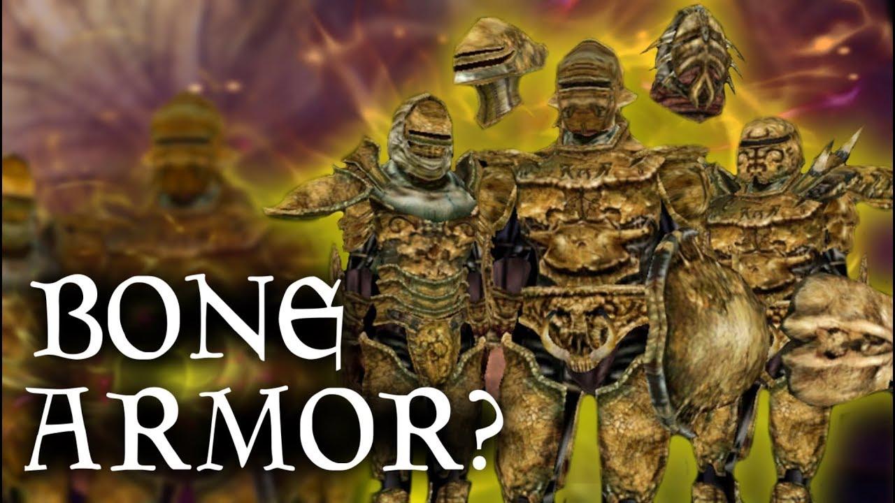 Skyrim How Does It Work Bonemold Armor Weapons Elder