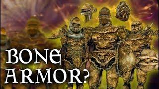 Skyrim: HOW does it WORK? - Bonemold Armor & Weapons - Elder Scrolls Lore