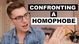 Confronting a homophobe in London | Q&A vid