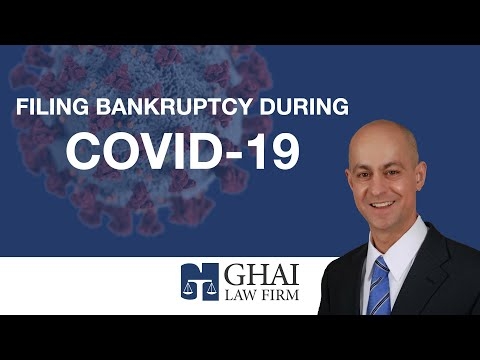Filing Bankruptcy During COVID-19