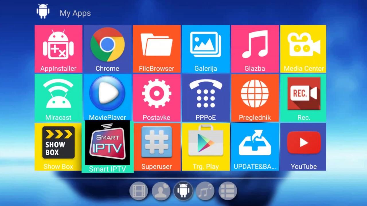San TV Balkan - android box - Smart IPTV