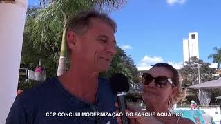 Entrega da 2ª Etapa do Parque Aquático 2019