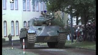 Originaler Panzer Panther in Bewegung Tank WW II in Motion