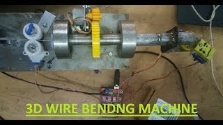OVERVIEW OF MY 3D WIRE BENDER  MUST WATCH 