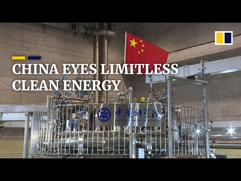 China eyes limitless clean energy through fusion reactions
