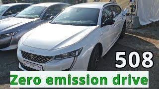 2019 Peugeot 508 SW PHEV, zero emission drive