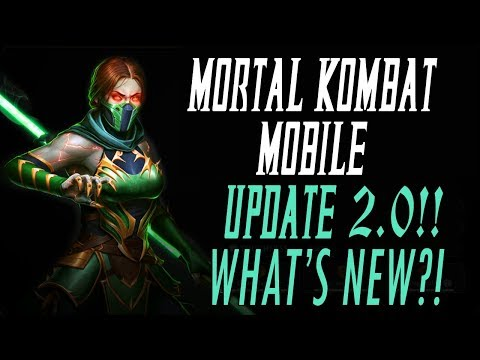 MORTAL KOMBAT MOBILE UPDATE 2.0!! NEW CHARACTERS, NEW TRIALS & NEW DIAMONDS!! MK11 MKX MK MOBILE thumbnail