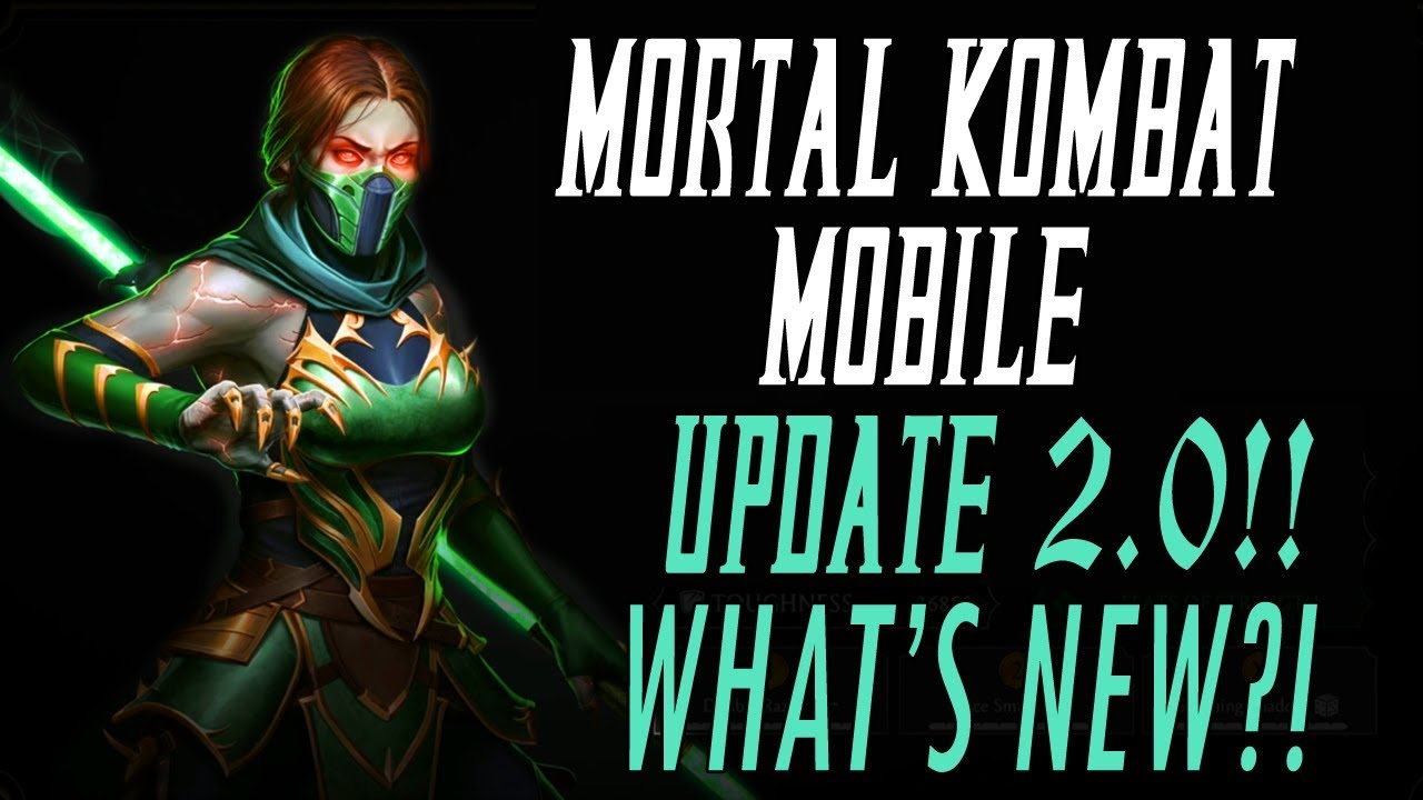 MORTAL KOMBAT MOBILE UPDATE 2 0!! NEW CHARACTERS, NEW TRIALS & NEW  DIAMONDS!! MK11 MKX MK MOBILE