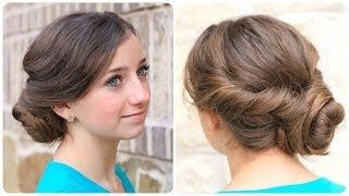 How to Create an Easy Twisted Updo | Plus Exciting Announcement thumbnail