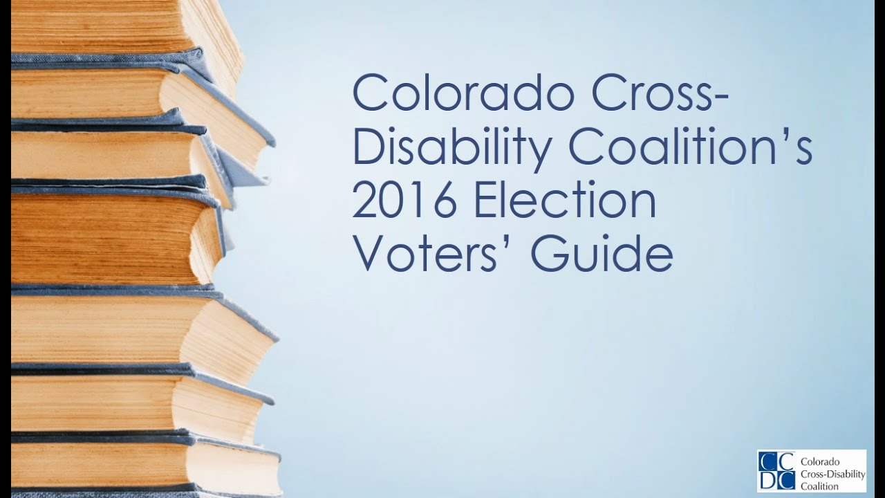 ccdc voters guide video 8 proposition 107 presidential primary rh youtube com Colorado Voting History colorado blue book voter guide 2016