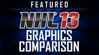 NHL 13 Demo - Xbox 360 vs. PlayStation 3 Graphics Comparison