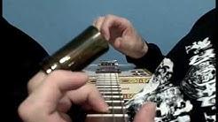 Louisiana Bottleneck Blues Guitar ~ Red Dog cigar box guitar Cam