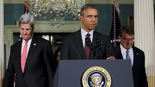 """باراك أوباما:""""تنظيم الدولة الإسلامية عصابة إجرامية""""    26-2-2016"""