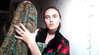 видео Павловопосадская шаль: история