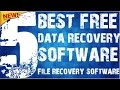 THE TOP 5 FREE Data Recovery SoftWare Completely FREE Download  WINDOWS XP 7 8 Usb Sd CARD BEST 2016
