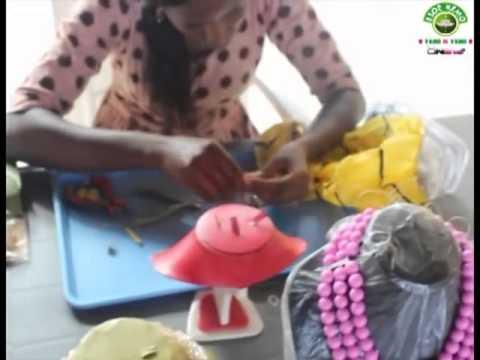 Esoe Remo presents Nigeria beads award Miss Sinleke 2014