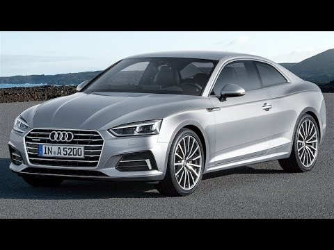 2017 Audi A5 Review--ALL-NEW Audi A5!!