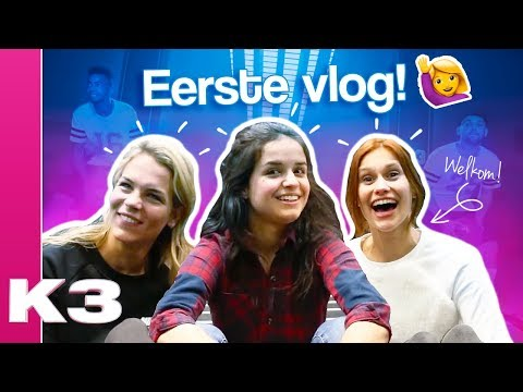 Volg ons backstage in onze eerste vlog! - K3 vlog #1