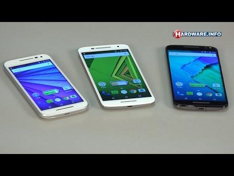 Motorola Moto G, Moto X Play en Moto X Style review - Hardware.Info TV (Dutch)