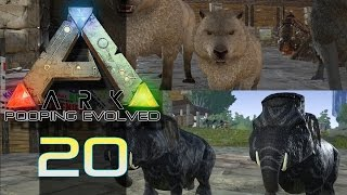 ARK SURVIVAL EVOLVED | Baby DireWolf & TWIN MAMMOTHS! | Episode 20 (Gameplay)