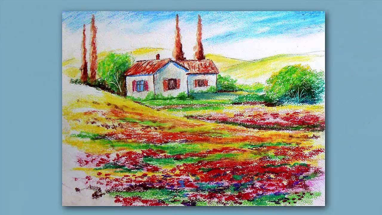 картинки пастелью масляной
