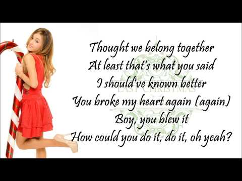 Ariana Grande - Last Christmas (with Lyrics)