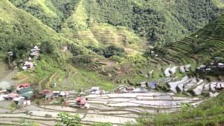 世界遺産、フィリピン・コルディリェーラの棚田群1 【バタッド】