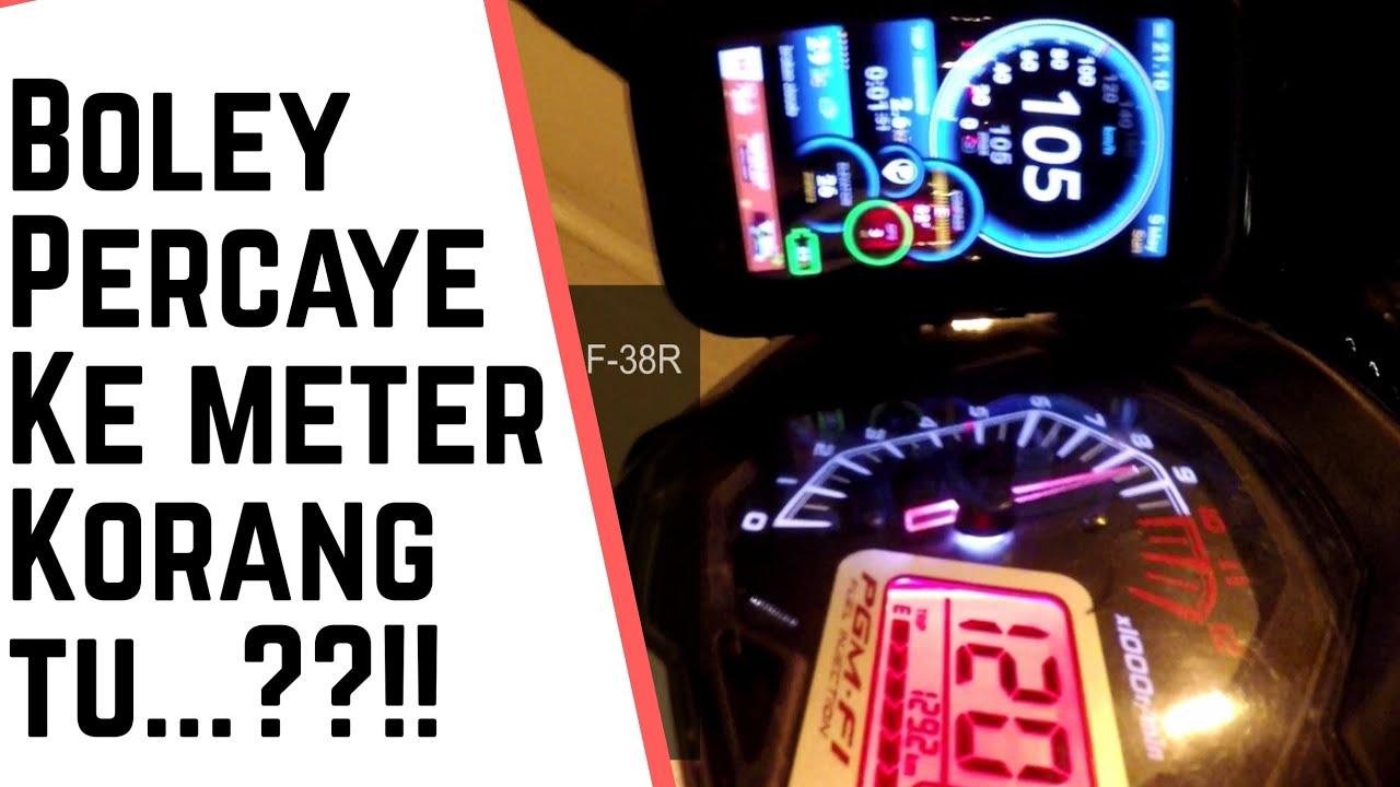GPS VS METER! - Setting Sprocket RS150R - YouTube