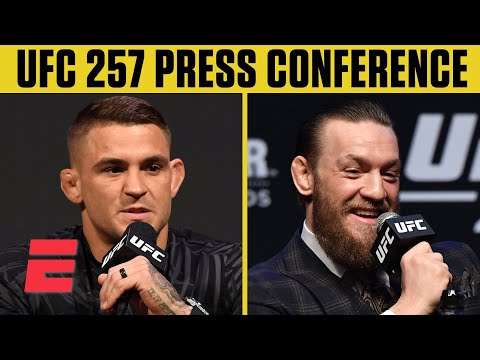 UFC 257: Dustin Poirier vs. Conor McGregor 2 Press Conferenc