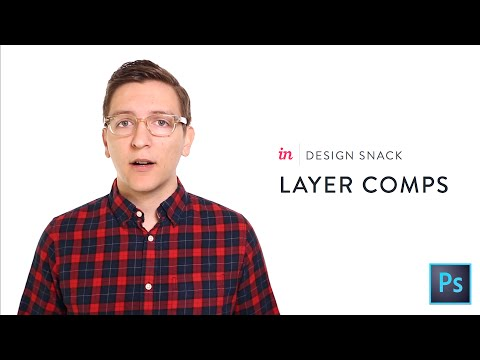How To Use Layer Comps In Photoshop - InVision Design Snack #1