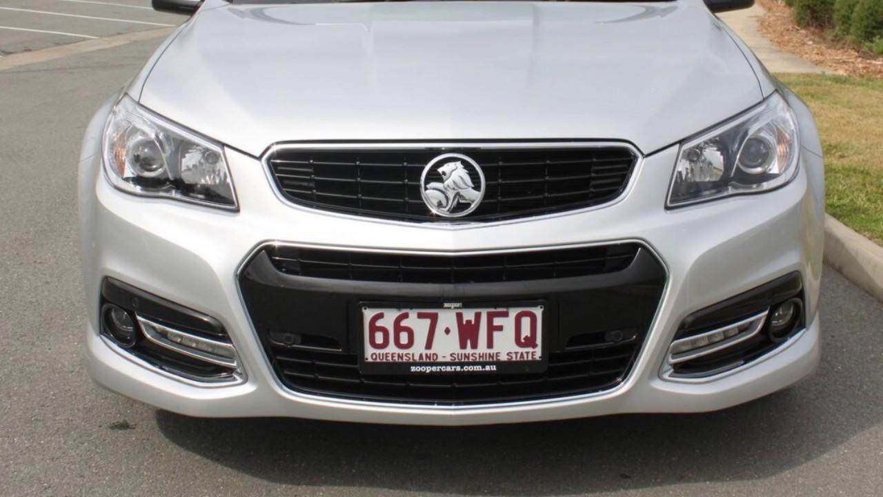 2015 Holden Commodore VF MY15 SV6 Sportwagon Storm Silver 6 Speed