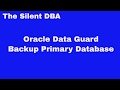 Oracle Data Guard - Backup Primary Database
