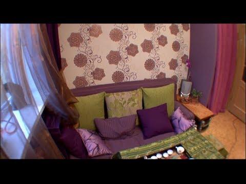 Дизайн квартиры. Комната в восточном стиле.