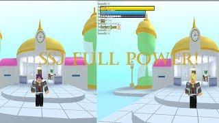 SSJ Full Power! | Roblox DBZ Final Stand
