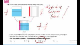 6.Sınıf Matematik Genel Tekrar Kesir OndalıkGösterim Oran