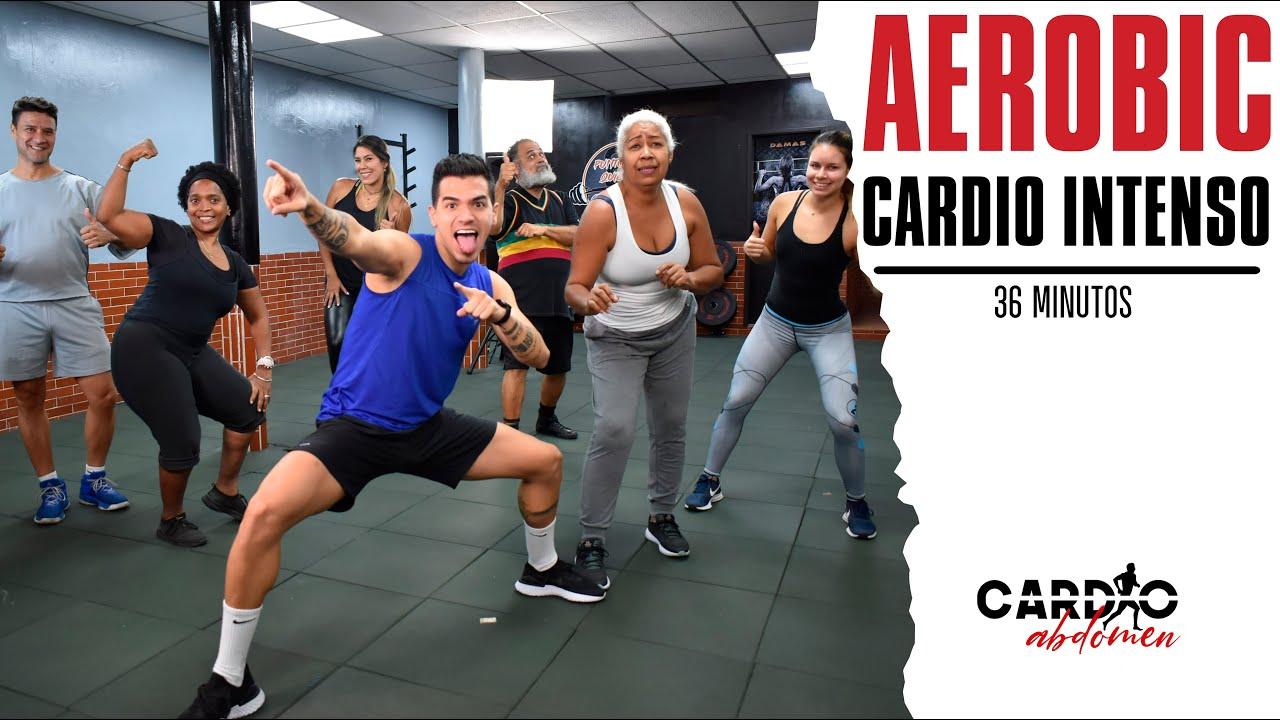 Rutina Cardio Todo el Cuerpo 30 minutos Quema Grasa Cardio Full Body. Aerobic y Cardio Intenso