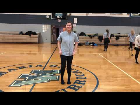 Rock Of Ages Dance Audition; Maura Sweeney