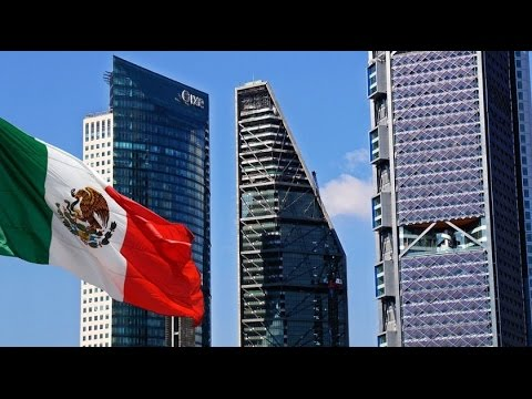 Prosperous, Booming, Modern Mexico City