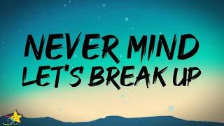 LANY - never mind let's break up (Lyrics)