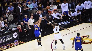 Warriors Splash The NBA Finals Record With 12 Threes In 1st Half of Game 3